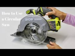 How to Use a Circular Saw to Cut Wood – Power Tools Tutorials – Thrift Diving