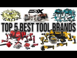 TOP 5 POWER TOOL BRANDS IN THE WORLD! (best of the best)